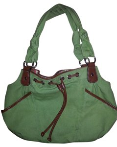 Croft & Barrow Green Casual Purse Tote in Green, multi color