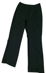 New York & Company Citystretch Cuff Comfortable Trouser Pants Black