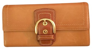 Coach Trifold Leather Wallet