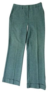 New York & Company Cuff Citystretch Comfortable Trouser Pants Gray