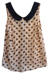 American Rag Top Peach & Black