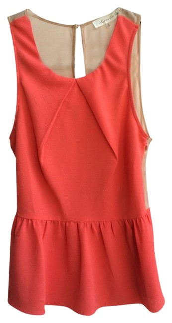 Preload https://item1.tradesy.com/images/sugarlips-coral-blouse-size-4-s-1739405-0-0.jpg?width=400&height=650