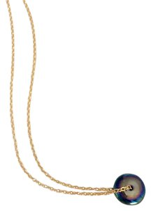 Elliot Francis new oil slick disc necklace