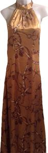 gold multi color Maxi Dress by S-Twelve