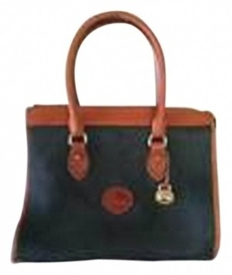 Preload https://img-static.tradesy.com/item/17395/dooney-and-bourke-all-weather-leather-forest-green-satchel-0-0-540-540.jpg