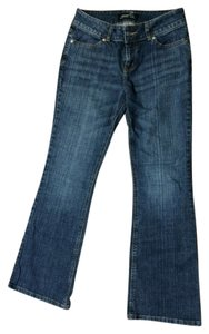 Victoria's Secret Vs London Stretchy Boot Cut Jeans-Dark Rinse