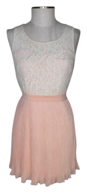 Item - Peach Coincidence & Chance Mid-length Night Out Dress Size 4 (S)