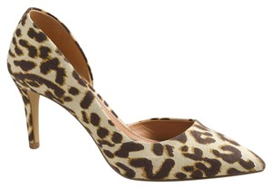 J.Crew cheetah spot Pumps