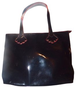 Stephanie Johnson Made For Sak's 1960's Mod Look Multiple Pockets Excellent Condition Dressy Or Casual Satchel in Black