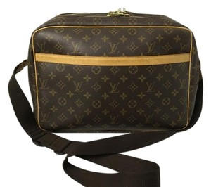 Louis Vuitton Reporter Gm Reporter Monogram Messenger Bag