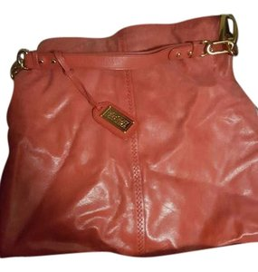 Badgley Mischka Leather Boho Hobo Bag