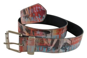 Other Haute Couture Fashion Print Belt