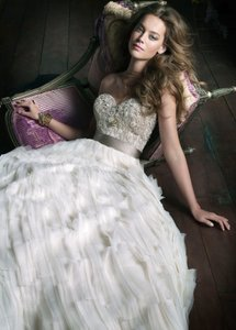 Lazaro Lazaro 3063 Wedding Dress