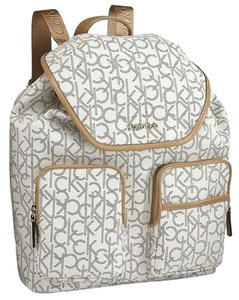 e154202b4 Calvin Klein White Backpack - Tradesy