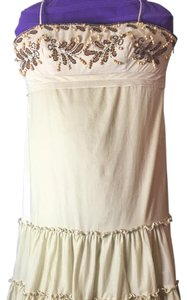 Eliza J short dress Light beige on Tradesy