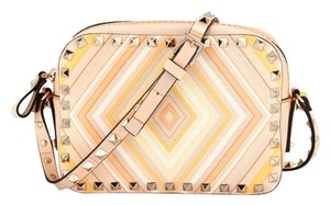 Valentino Rockstud Multicolor Cross Body Bag
