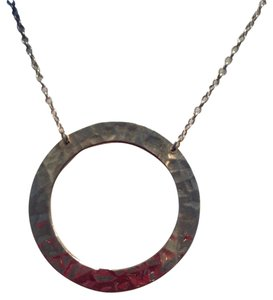 Other Solid 14k Disc Necklace