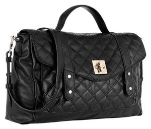 DKNY Quilted Black Messenger Bag