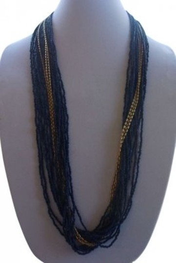 Preload https://img-static.tradesy.com/item/173995/blue-and-gold-beaded-long-necklace-0-0-540-540.jpg