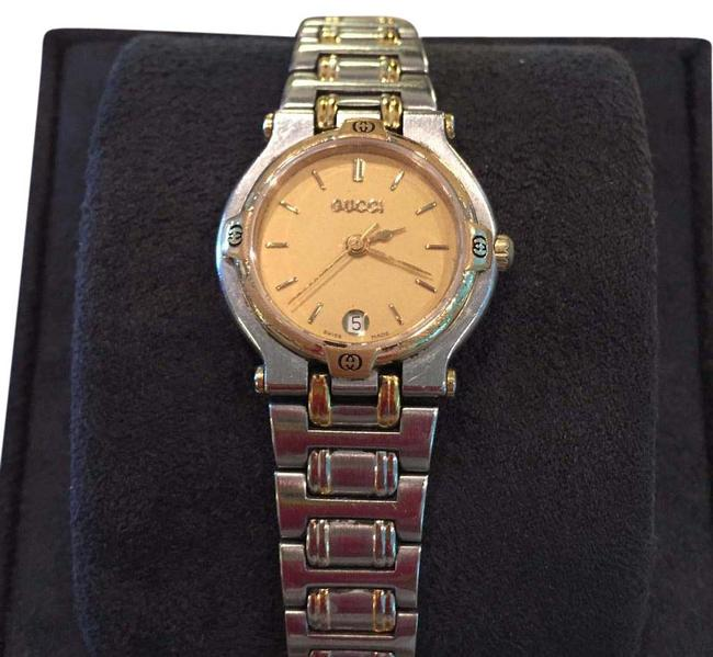 Item - Gold and Stainless Steel Vintage Two Tone Watch