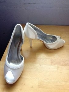 Satin Upper Sequin Wedding Shoe. Wedding Shoes
