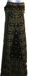 brown Maxi Dress by Bizz