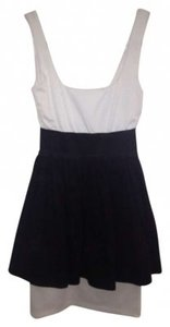 Necessary Objects Black And White Party Dress