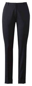 Etcetera Stretchy Side Zipper Ankle Skinny Pants Black