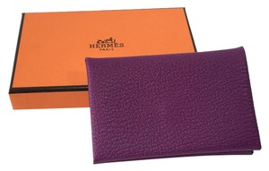 Hermès Hermes Purple Coin Purse