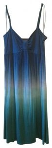 INC International Concepts short dress Blue/Teal on Tradesy