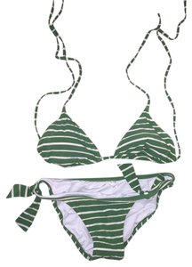 J.Crew J.Crew Striped Bikini