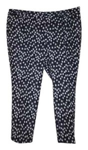 Worthington Relaxed Pants Black/ white
