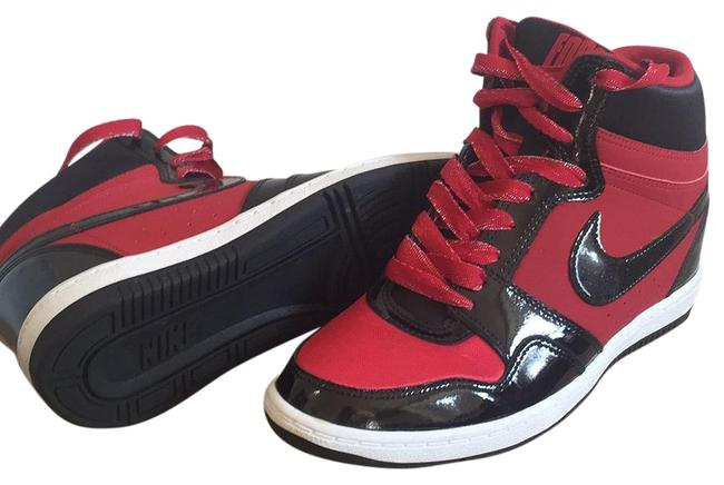 Item - Black and Red Force Sky High Sneakers Size US 8.5 Regular (M, B)