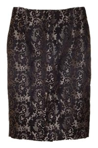 Worthington Skirt Gold/Black