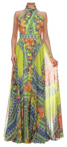 Multicolor Maxi Dress by Va Va Voom