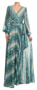 Turqoise Maxi Dress by Va Va Voom