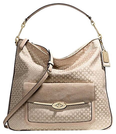 Preload https://item3.tradesy.com/images/coach-madison-op-art-pearlescent-f27906-msrp-pearl-and-cream-canvas-with-leather-trim-satchel-1740382-0-0.jpg?width=440&height=440