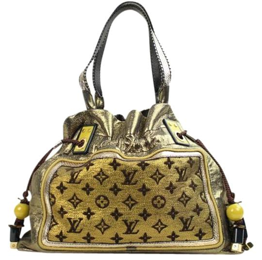 Louis Vuitton Lv Monogram Metallic Shoulder Bag