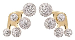 nOir nOir Multi-Sphere CZ Pave Earrings