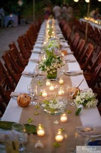 Burlap 12 Extra Wide Table Runners 18