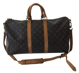 Louis Vuitton Vintage Keepall Duffle Monogram Travel Bag