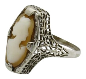 Cameo Ring, Cameo Jewelry, 14k Gold Cameo Jewelry