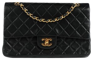 Chanel Vintage Double Flap Ghw Boy Shoulder Bag