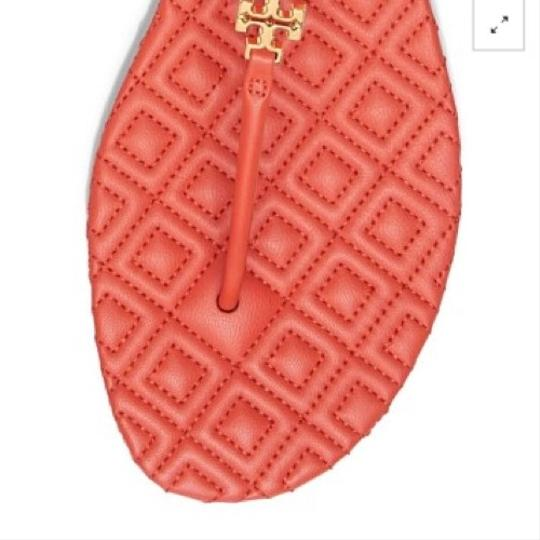 Tory Burch Poppy Red Sandals Image 4