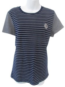 Ralph Lauren White T Shirt Navy Blue