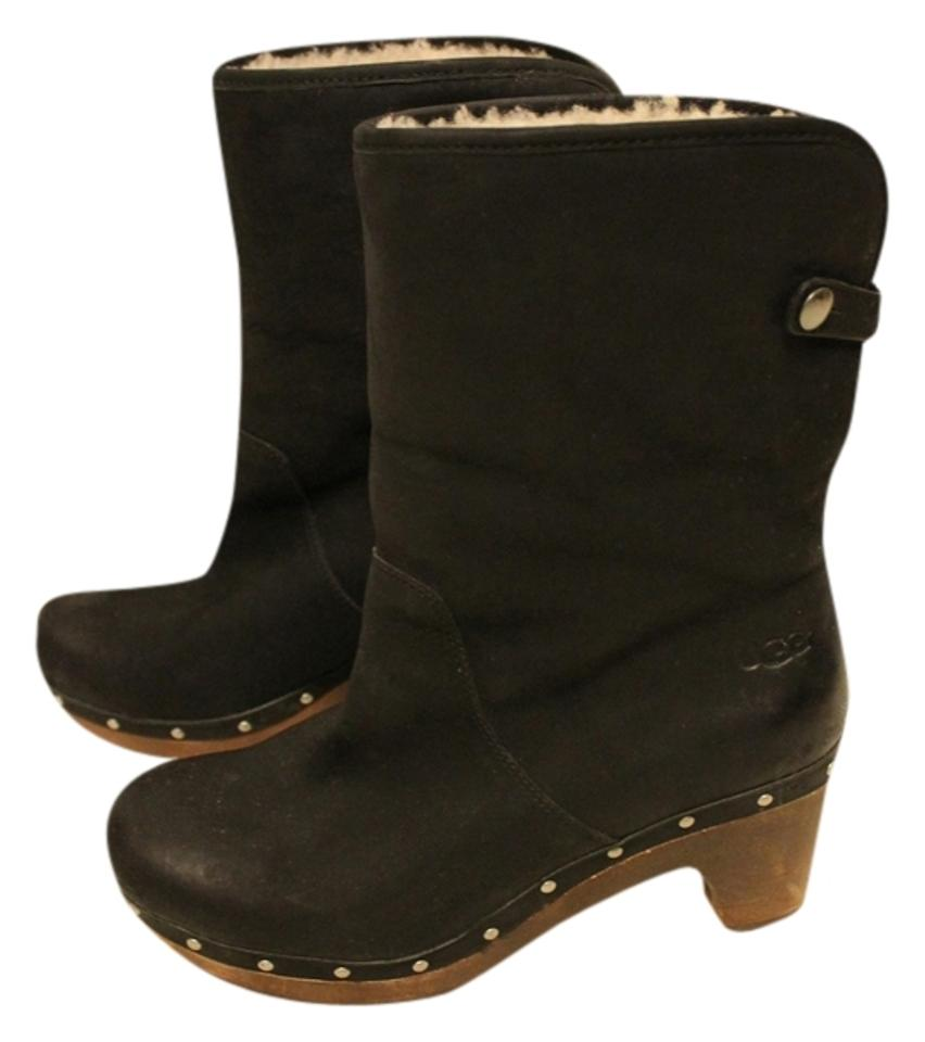 fd66202955e UGG Australia Black Lynnea Clog Boots/Booties Size US 8 Regular (M, B) 65%  off retail