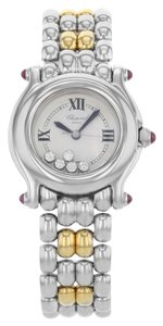 Chopard Chopard Happy Sport Floating Diamonds 27/8250-21 Steel Watch (13630)