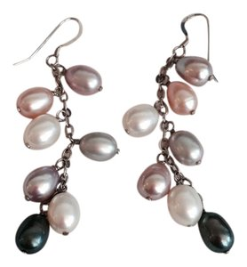 Hamilton Jewelers Hamilton Jewelers Multi-color pearl drop earrings