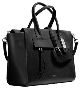 Coach Chic Functional Satchel in Black