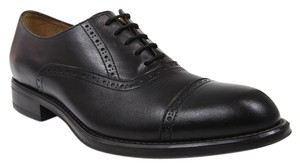 Scarpino Perforated Leather Brogue Black Formal